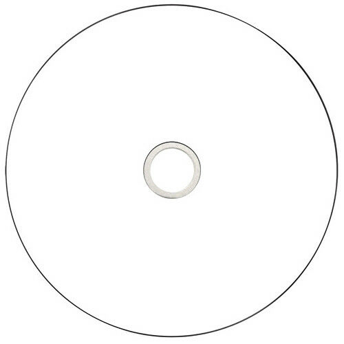 Aone Blu Ray Blank Discs Full Face White Printable 25GB BD-R 5 DISCS SLEEVED