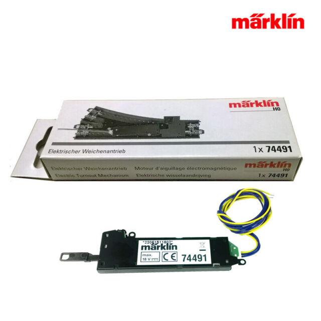 Märklin 74491 Weichenantrieb C-Gleis +++ Neueste Version in OVP
