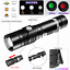20000LM Led flashlight 18650 Rechargeable USB linterna torch T6//L2//V6 Zoomable