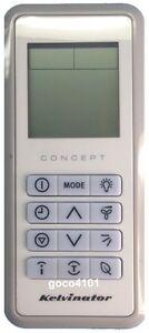 original kelvinator air conditioner remote control rg03a bgef elbr rh ebay com kelvinator concept air conditioner remote instructions kelvinator air conditioner remote control not working