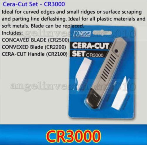 1 set Cera-Cut Set CR3000 Deburring tool with CONCAVED and CONVEXED BLADE