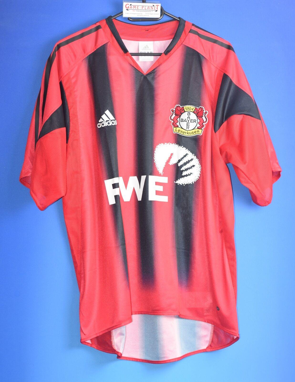 Bayer Leverkusen Bundesliga Gr.M Trikot 1 Liga Bundesliga Bayer 04 Fussball RWE    Räumungsverkauf