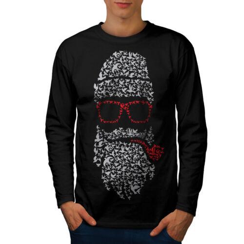 Santa Swag Cool Christmas Men Long Sleeve T-shirt NEWWellcoda