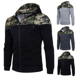 Mens-Winter-Camouflage-Hooded-Sweater-Shirt-Hoodie-Tops-Jackets-Cardigan-Outwear