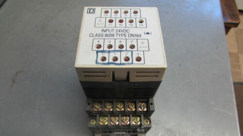 Square D SyMax Sy//Max 24Vdc Class 8009 Input DN164