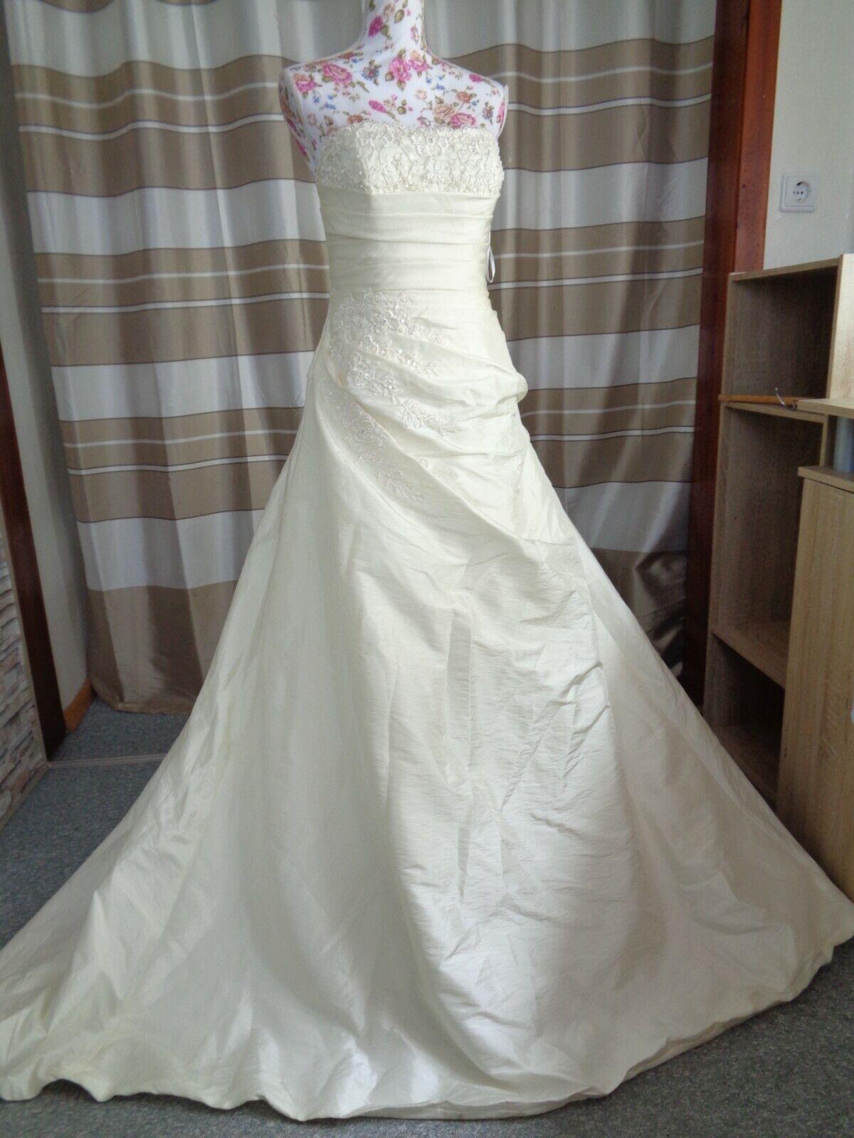 (B908)Edles Damen Braut Standesamt Abend Kleid GR: 40