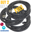 10-Ft-Fast-Charging-USB-C-Type-C-Cable-Heavy-Duty-Data-SYNC-For-Android-Samsung miniature 1