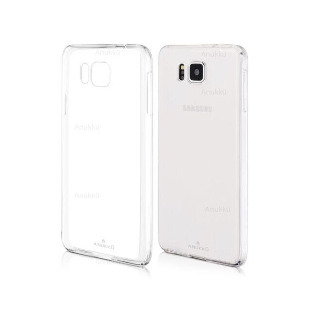 Custodia Cover Morbida Trasparente Air Gel Per Samsung Galaxy Alpha