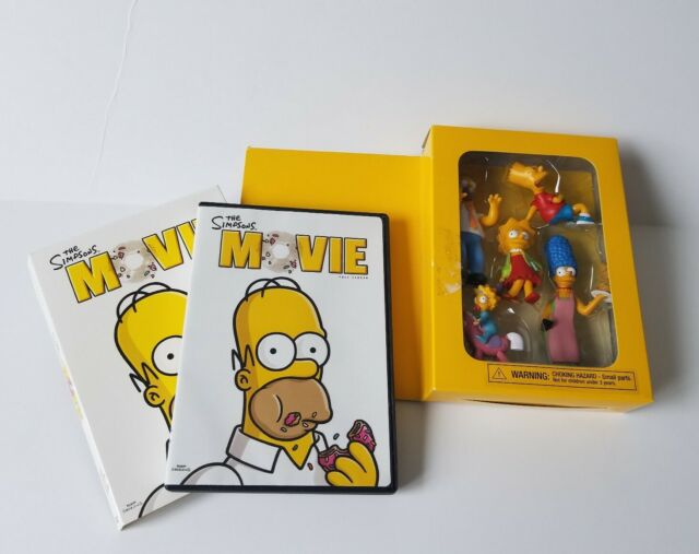 The Simpsons 2007 Dvd Movie And Family Figurines Promo For Sale Online Ebay