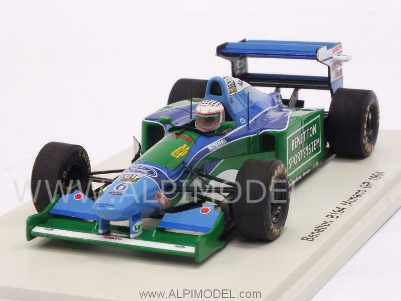 il più economico Benetton B194 GP Monaco 1994 J.J.Lehto 1 43 SPARK S4482 S4482 S4482  vendita outlet online