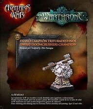 Avatars of War: Dwarf Doomcrushers Veteran - aow65 -Warhammer Character