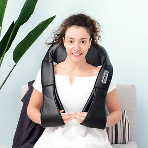 Shiatsu-Neck-Shoulder-Massager-8-Deep-Kneading-Massage-Therapy-W-Heat