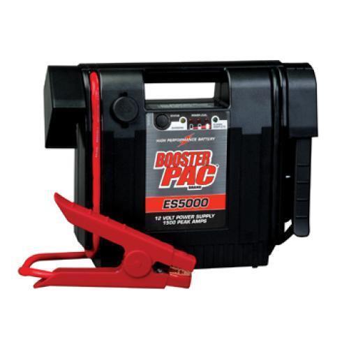 Booster PAC 1500 Peak Amp 12 Volt Jump Starter ES5000