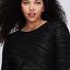 NEW-LANE-BRYANT-Metallic-Fitted-Sheath-silhouette-Dress-Plus-28-4X-Crinkled-NWT thumbnail 6
