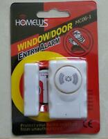 Homel Mc06-1 Door/window Entry Wireless Remote Control Sensor Alarm Burglar Host
