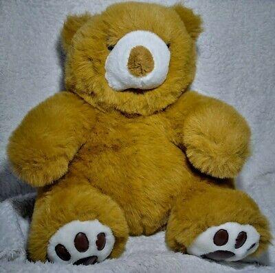 Hay Hay Chicken Stuffed Animal, Steven Smith Teddy Bear Plush Big Fluffy Cuddly Stuffed Animal Brown Toy 14 Sit Ebay