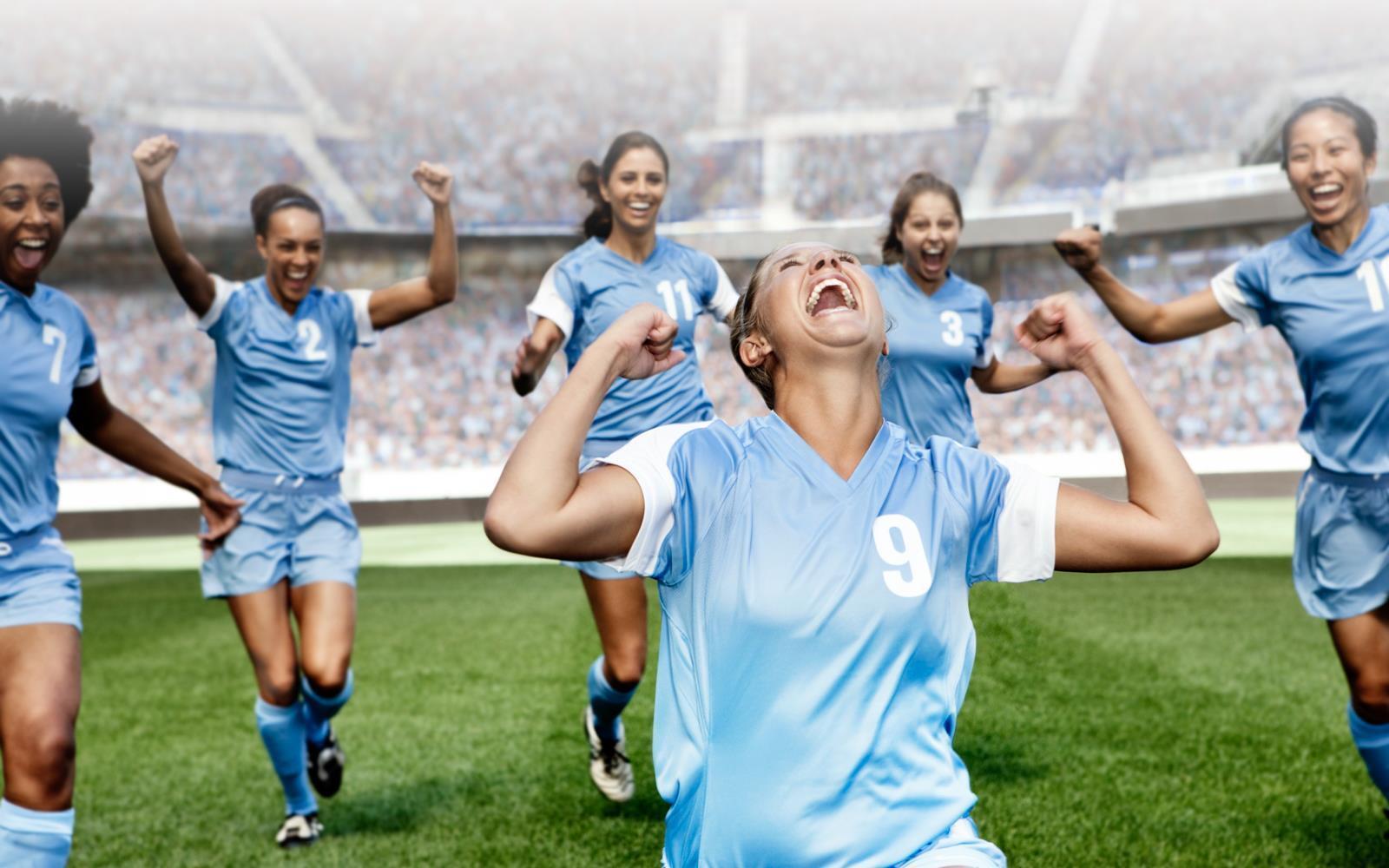 Russian Women's National Team at U.S. Women's National Team
