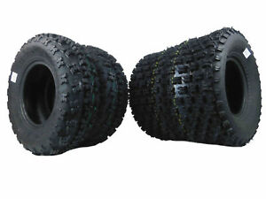 MASSFX MO 21x7-10 Front 20x10-9 Rear ATV TIRE SET (All 4 Tires) 21x7x10 20x10x9