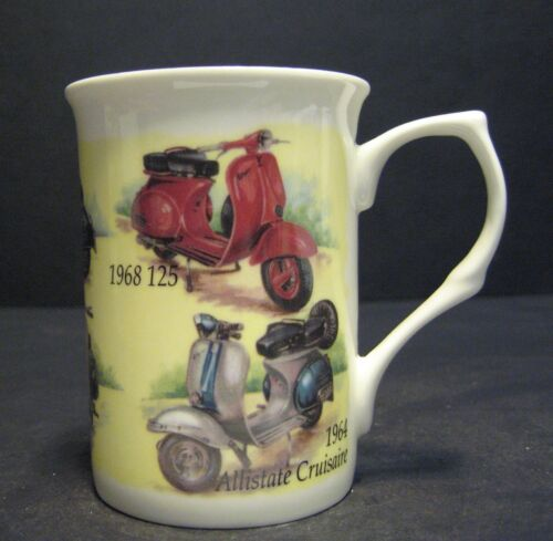 1 CLASSIC VESPA SCOOTER Fine Bone China Mug Cup Beaker