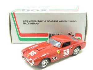Caja-Modelos-Diecast-8407-Ferrari-250-GT-3-Ore-Di-Pau-Rojo-1-43-ESCALA-en-Caja