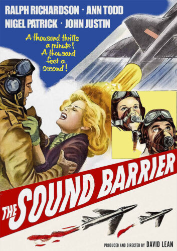 Classic Movie Cinema Poster Art THE SOUND BARRIER 1952 David Lean