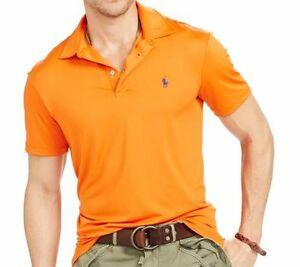 4ddd0db2de New Men Polo Ralph Lauren Performance Lisle Polo Shirt MSRP $98.5 ...