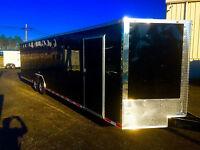 2017 8.5x28 V-nose Enclosed Cargo Race Ready Trailer Car Toy Hauler 8.5x28