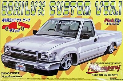 Aoshima 32008 Toyota Hilux 80 Custom Ver.1 (Pick Up Truck) 1/24 scale kit