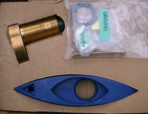 Details about Raymarine a67, c97, e7d, e97 Bronze Depth Speed Temp  Transducer B744V A66090