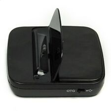 Data Sync Charging Dock Charger Holder Cradle & USB Cable OTG For HTC One M8 New