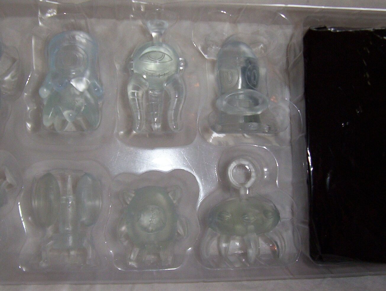 CLEAR MINI TREEHOUSE FIGURES SCARYGIRL SCARY GIRL  (20)