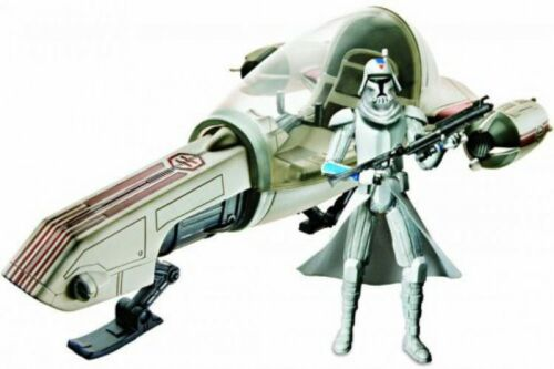 Freeco Speeder with Clone Trooper Action Figure Set