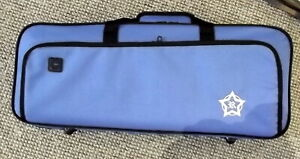 Rosetti Deluxe lightweight Bb trumpet case, blue, new