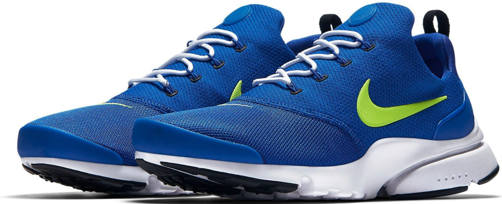 Nike Presto Fly Size 9.5 M (D) EU 43 Men's Running shoes Royal Volt 908019-407