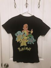 Juniors Girl Women Tee T-Shirt Print Cute Shirt Starter Char mander Squirtle