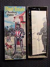 1956 BLACK KNIGHT of Nurnberg Aurora Model Kit 473-98 w/ Box & Instructions