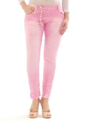 JEANS donna pantaloni hüftjeans Harem Jeans A Sigaretta Boyfriend d9919