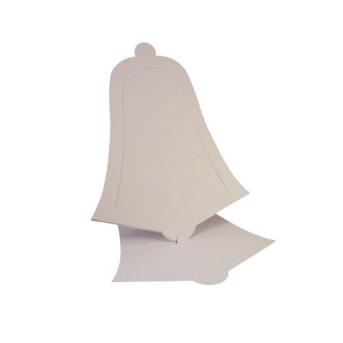 5 Pack 300gsm Carte blanche C5 ding Dong Bell carte blancs chevalet /& Enveloppes