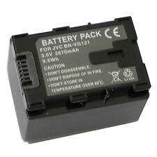 New Battery BN-VG138US For JVC BN-VG121U BN-VG108US BN-VG107 BN-VG138E BN-VG114U