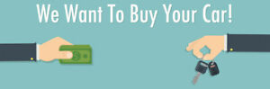 SELL US YOUR CAR / TRUCK / SUV / MOTORCYCLE! WE BUY IT ALL!