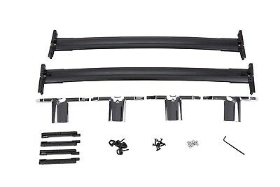 2008 2017 Buick Enclave Gm Black Cross Rail Kit With