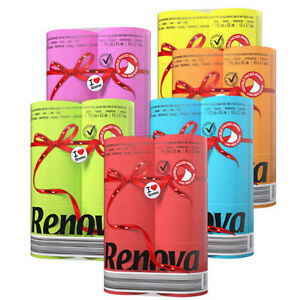 Image Is Loading Renova Red Label Toilet Paper 6 Different Colors