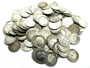 1911 - 1919 King George V Silver Threepence Coin - Choose Your Date