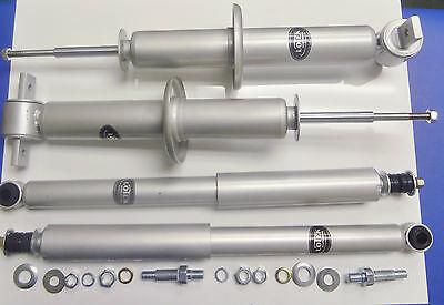 Set 4 New front/rear LoTek Sport gas Shocks/struts 93-02 Chevy Camaro, Firebird