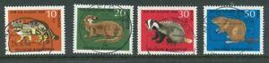 BRD-Mi-Nr-549-552-zentrisch-gestempelt-Vollstempel