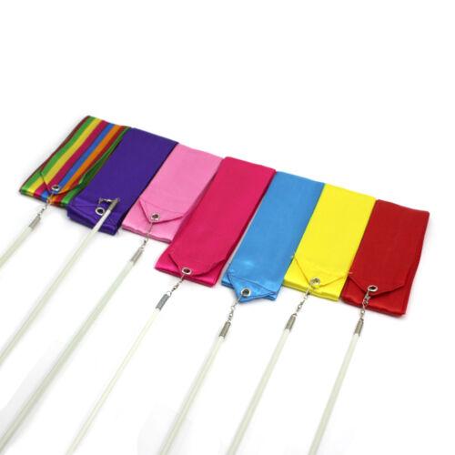4Meter Profil Gymnastik Turnen Rhythmikbänder Bänder Sport 7 Farben Zubehör neu