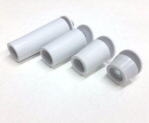 Rollladen-Anschlagstopfen-Endpunkt-Rolladen-Stopper-Puffer-Licht-grau-13-60-mm