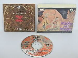 Details about MIGHT AND MAGIC Ref/ccc PC-Engine CD PCE Grafx Japan pe