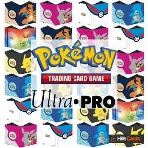 Ultra Pro Pokemon 9-Pocket PRO BinderChoose Design Trading Card Album Folder
