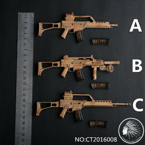 "1//6 Scale MP7A1-3 Styles Gun Weapon Model Toy Fit 12/"" Soldier Action Figure"